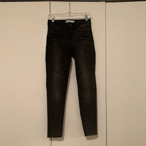 Black jeans Zara work once